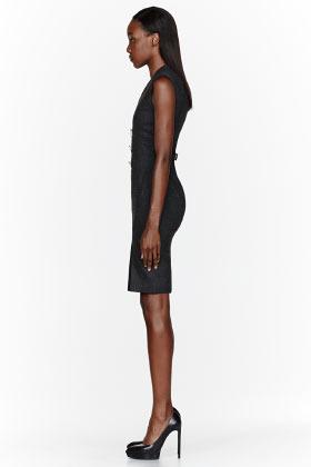 Altuzarra Charcoal grey Broome Dress
