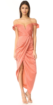 Zimmermann Winsome Drape Cocktail Dress $695 thestylecure.com