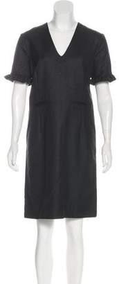 Marni Wool Short Sleeve Dress