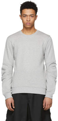 Comme des Garcons Grey Panelled Sleeve Sweatshirt