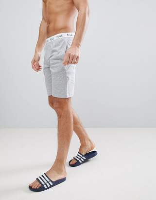 French Connection Logo Waistband Shorts