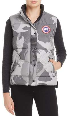 at Bloomingdale's · Canada Goose Freestyle Camo Down Vest