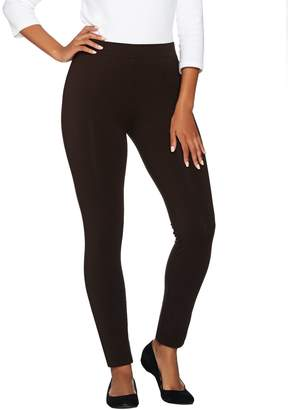 Susan Graver Weekend Stretch Cotton Modal Leggings
