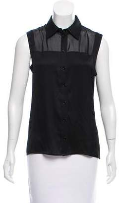 Rachel Zoe Silk Sleeveless Top