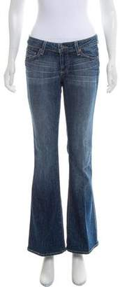 Paige The Bell Canyon Mid-Rise Flared Jeans