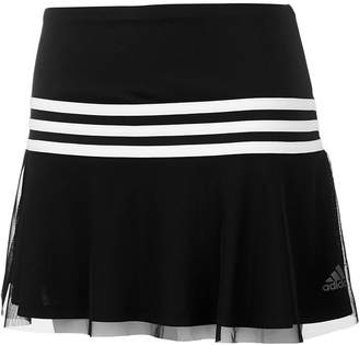adidas Toddler Girls Striped Sporty Skort