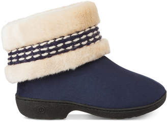 Isotoner Signature Women's Erica Microsuede Boot Slippers