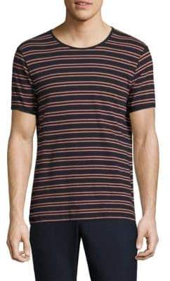 J. Lindeberg Short-Sleeve Striped Tee