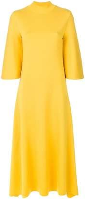 Pringle flared sleeve long dress