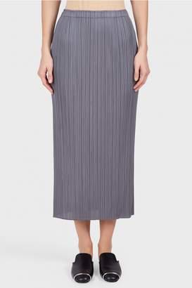 Pleats Please Issey Miyake Basic Midi Skirt