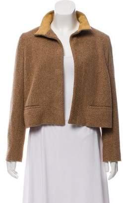 Ralph Lauren Wool Open Front Jacket