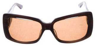 Kieselstein-Cord Square Tinted Sunglasses