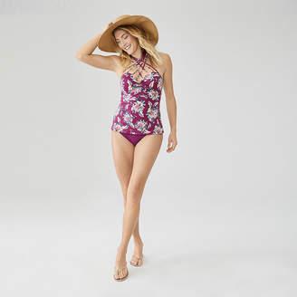 d79ff89e845de Ambrielle Floral Bandeau Swimsuit Top