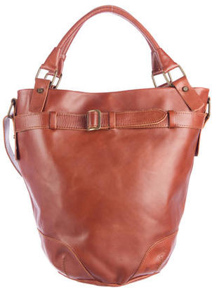 Rebecca Minkoff Smooth Leather Satchel $200 thestylecure.com