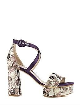 Stuart Weitzman Carla Luxe Platform Sandal