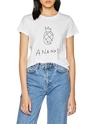 2b95d7d9d48 at Amazon.co.uk · French Connection Women's Ananas T - Shirt White/Black  10, 8 (Size: