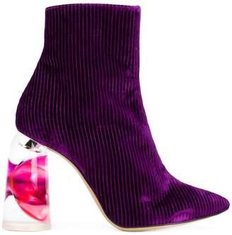 Ellery contrast-heel boots
