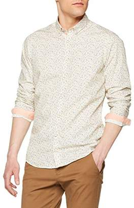 Colours&Sons Men's Miami Print-Story Casual Shirt