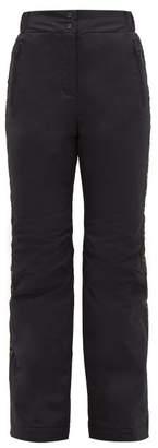 Fendi Rama Wide Leg Padded Shell Ski Trousers - Womens - Black