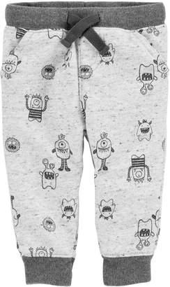 Osh Kosh Oshkosh Bgosh Baby Boy Monster Knit Jogger Pants