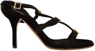 Roberto Cavalli Velvet sandals