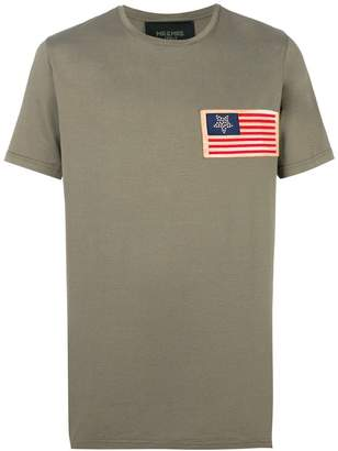 Mr & Mrs Italy flag patch T-shirt