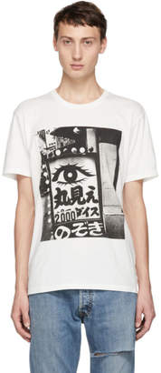Wacko Maria White Daido Moriyama Edition 2000 T-Shirt