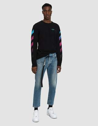 Off-White Off White Low Crotch Denim Jean