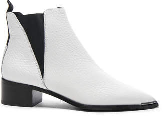 Acne Studios Grained Leather Jensen Booties