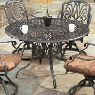 Fleur De Lis Living Maryann Floral Blossom Dining Table Table