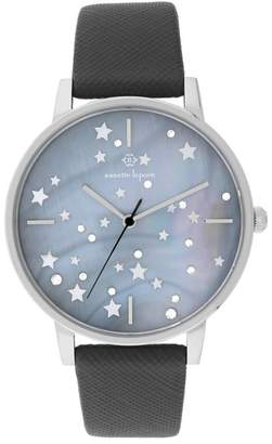 Nanette Lepore NANETTE Women's Quartz Faux Leather Strap Watch, 40mm