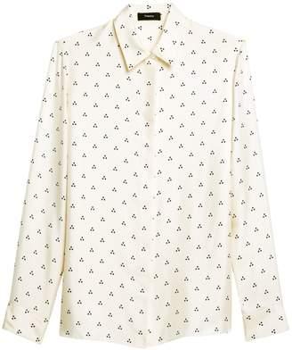 Theory Classic Silk Shirt