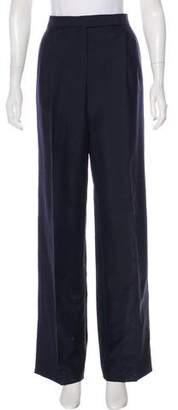 Christian Dior Mohair & Wool-Blend Pants