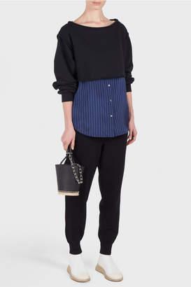 Alexander Wang Terry Striped Shirt