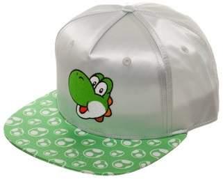 Women's Super Mario Yoshi Flat Bill Hat