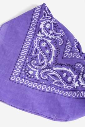 Topshop Purple Paisley Bandana