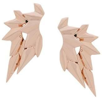 Maria Black Wing earrings