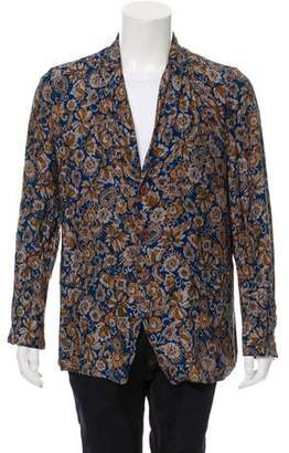 Dries Van Noten Floral Button-Up Shirt