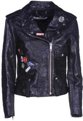 Golden Goose Biker Leather Pins