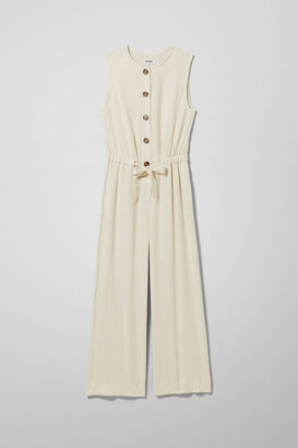 Weekday Thelma Jumpsuit - White