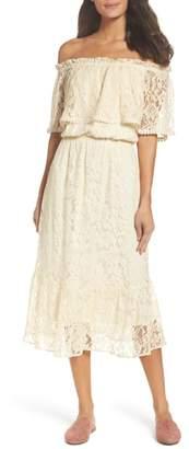 Fraiche by J Popover Midi Dress