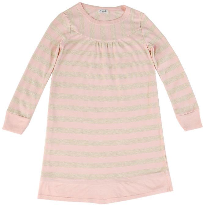 Oatmeal Rugby Stripe Dress