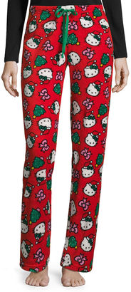 Hello Kitty Plush Pajama Pants - Juniors $11.99 thestylecure.com