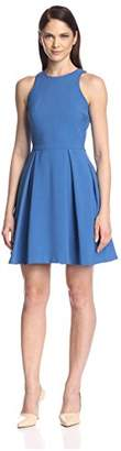 Society New York Women's Fit and Flare Dress