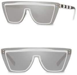 Valentino 46MM Studded Mirror Square Sunglasses
