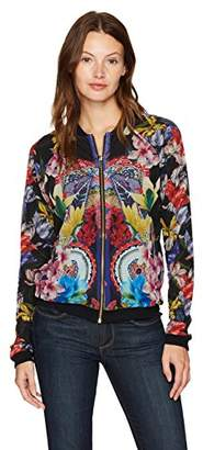 Desigual Women's Basile Woman Knitted Jacket