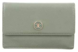 Chanel CC Card Holder