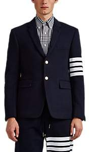 Thom Browne Men's Cotton Three-Button Sportcoat - Navy