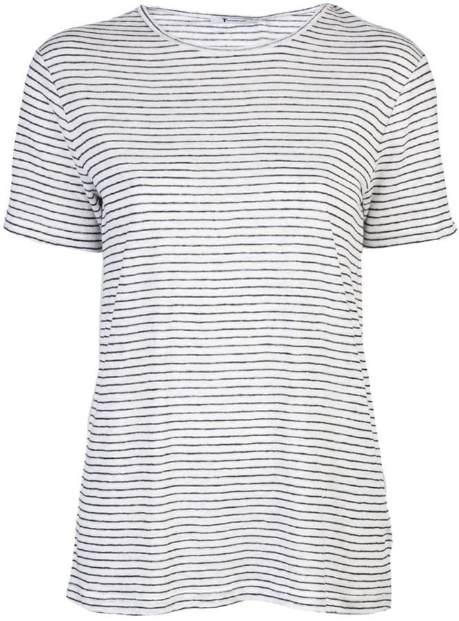 T By Alexander Wang Stripe t-shirt