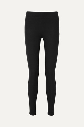 Joseph Stretch-gabardine Leggings - Black